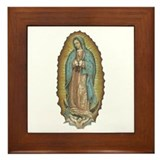 Lady of Guadalupe Framed Tile