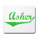 Asher Vintage (Green) Mousepad