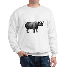 holiday rhino Sweatshirt