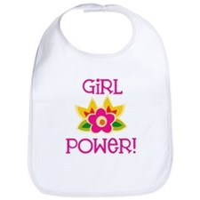 Flower Girl Power Bib