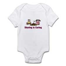 Sharing is Caring Infant Bodysuit