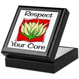 Pilates Respect Your Core Keepsake Box