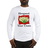 Pilates Respect Your Core Long Sleeve T-Shirt