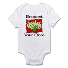 Pilates Respect Your Core Infant Bodysuit