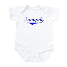 Taniyah Vintage (Blue) Infant Bodysuit