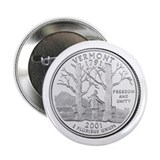 "Vermont State Quarter 2.25"" Button (10 pack)"