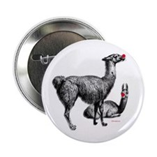 "llamas 2.25"" Button (10 pack)"
