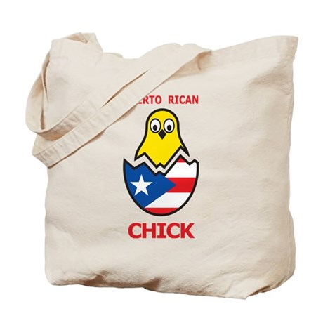 Puerto Rican Chick Tote Bag