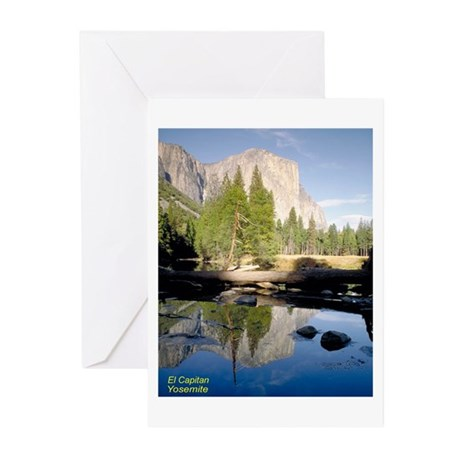 Yosemite National Park Greeting Cards (Package of
