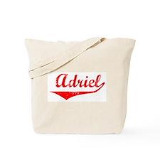 Adriel Vintage (Red) Tote Bag
