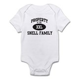 Property of Snell Family Infant Bodysuit