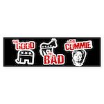 Anti-Hillary Bumper Sticker Bumper Sticker