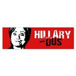 Hillaryous Bumper Bumper Sticker