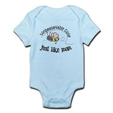 Unbeelievably cute just like mom Infant Bodysuit