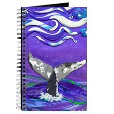 Cute Whale tail Journal