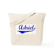 Adriel Vintage (Blue) Tote Bag
