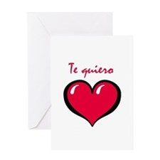 Te quiero Greeting Card