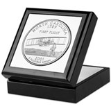 North Carolina State Quarter Keepsake Box