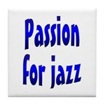 Jazz Tile Coaster