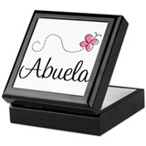 Abuela Grandmother Keepsake Box