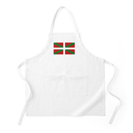 The Ikurriña, Basque flag Apron
