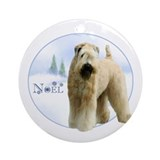 Wheaten Noel Ornament (Round)