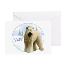 Wheaten Noel Greeting Card