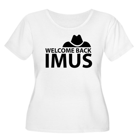 Welcome Back Imus Women's Plus Size Scoop Neck T-S