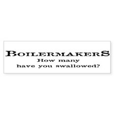 Boilermakers Fun Stuff Bumper Bumper Sticker