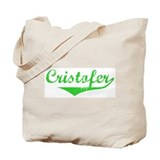 Cristofer Vintage (Green) Tote Bag