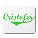 Cristofer Vintage (Green) Mousepad