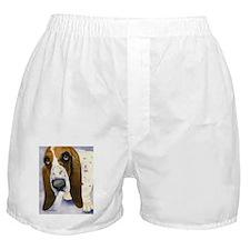 Basset Hound 3 Boxer Shorts