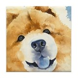 Chow Chow 2 Tile Coaster