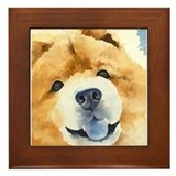 Chow Chow 2 Framed Tile