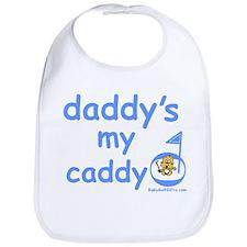 Unique Daddy's caddy Bib