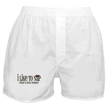 I Like To Nap Dog Boxer Shorts