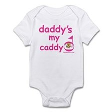 Funny Daddy's caddy Infant Bodysuit