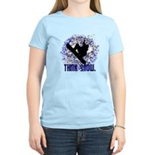 THINK SNOW. T-Shirt