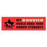 BOUVIER - Honor Student Domination Sticker
