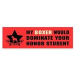 BOXER - Honor Student Domination Sticker