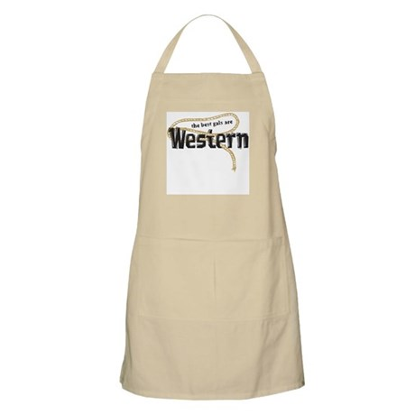 The best gals are Western BBQ Apron