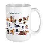 Friends Forever Large Mug