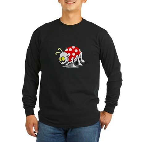 Ladybug Long Sleeve Dark T-Shirt