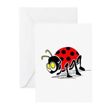 Ladybug Greeting Cards (Pk of 20)