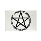 Pentagram Rectangle Magnet