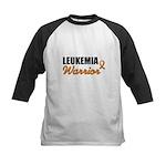 Leukemia Warrior Kids Baseball Jersey