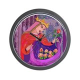 Queen Isabel of Portugal Wall Clock