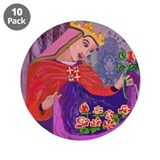 "Queen Isabel of Portugal 3.5"" Button (10 pack)"