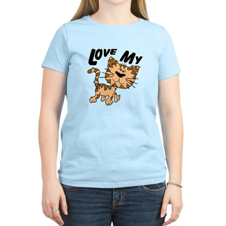 Love My Cat Women's Light T-Shirt