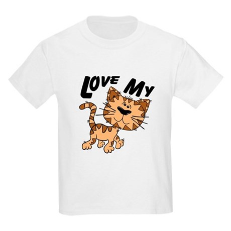 Love My Cat Kids Light T-Shirt